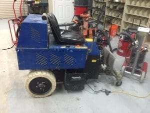 Speedy Floor Removal carpet removal machine