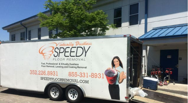 Speedy-floor-removal-branded-truck