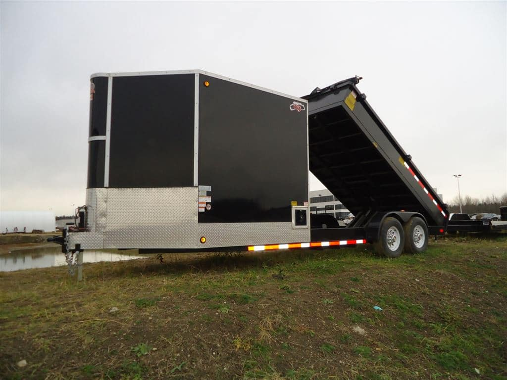 Image of a Speedy Floor Removal dump loader and trailer
