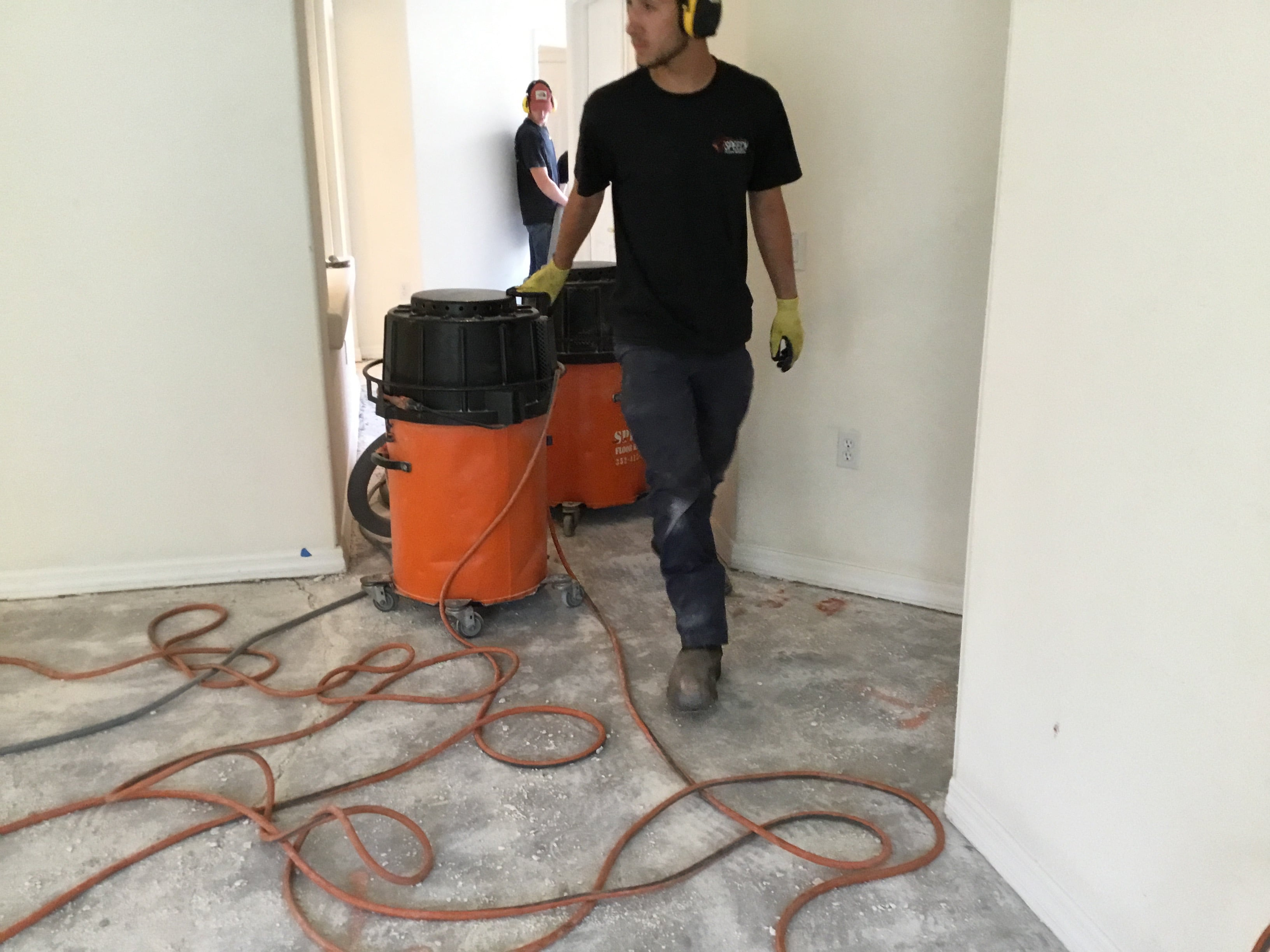 Image of a new Speedy Floor Removal central electrical vacuum unit