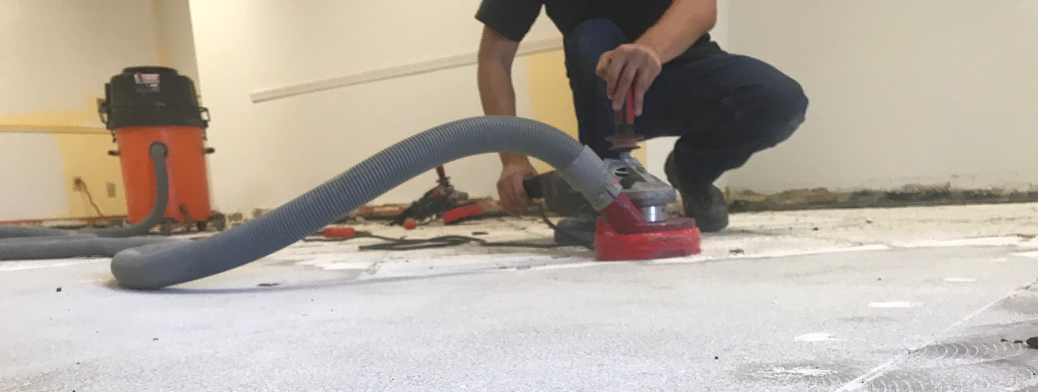 Image of sub-floor preparation